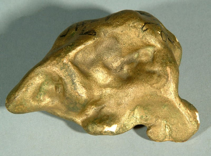 Model of gold nugget