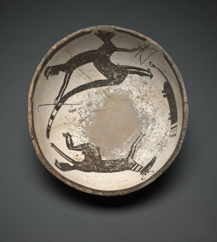 Bowl (Opposing Composite Figures)