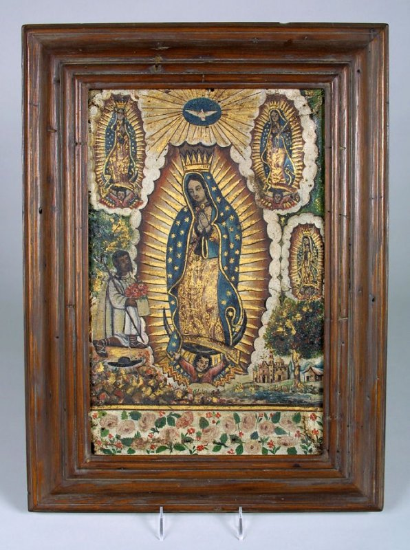 Retablo of Our Lady of Guadalupe