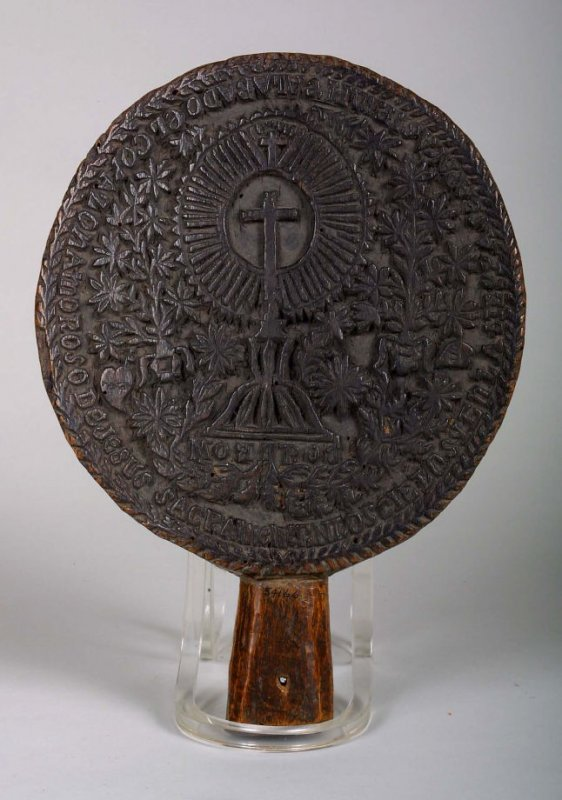 Seal, used for stamping church candles