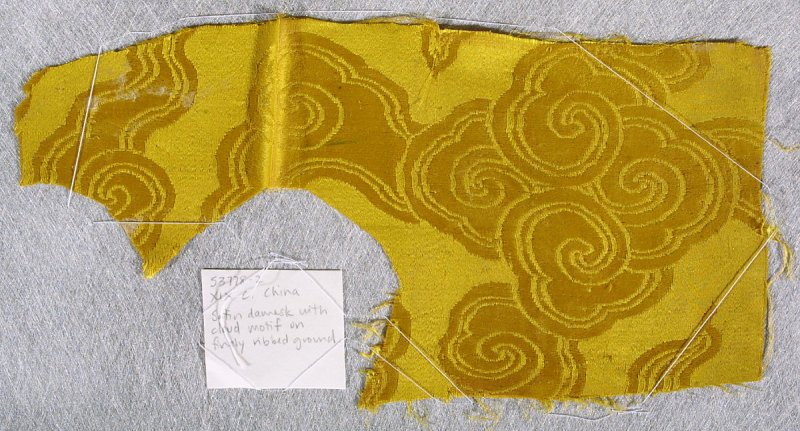 Fragment of damask