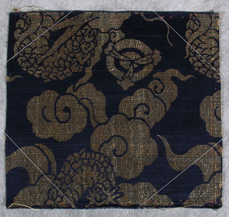 Textile fragment of a Noh robe (karigimu or Happi Boh Costume)
