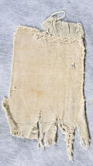 Textile fragment of a breechcloth?
