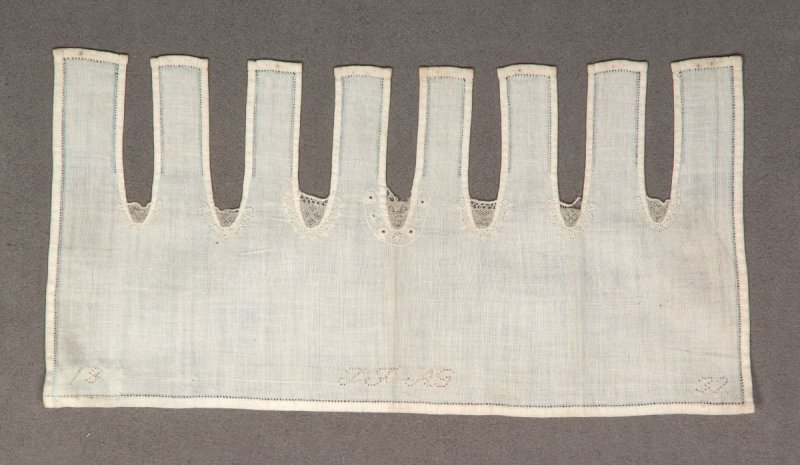 """Embroidery/darning sampler ,""""J.F.A.G."""""""