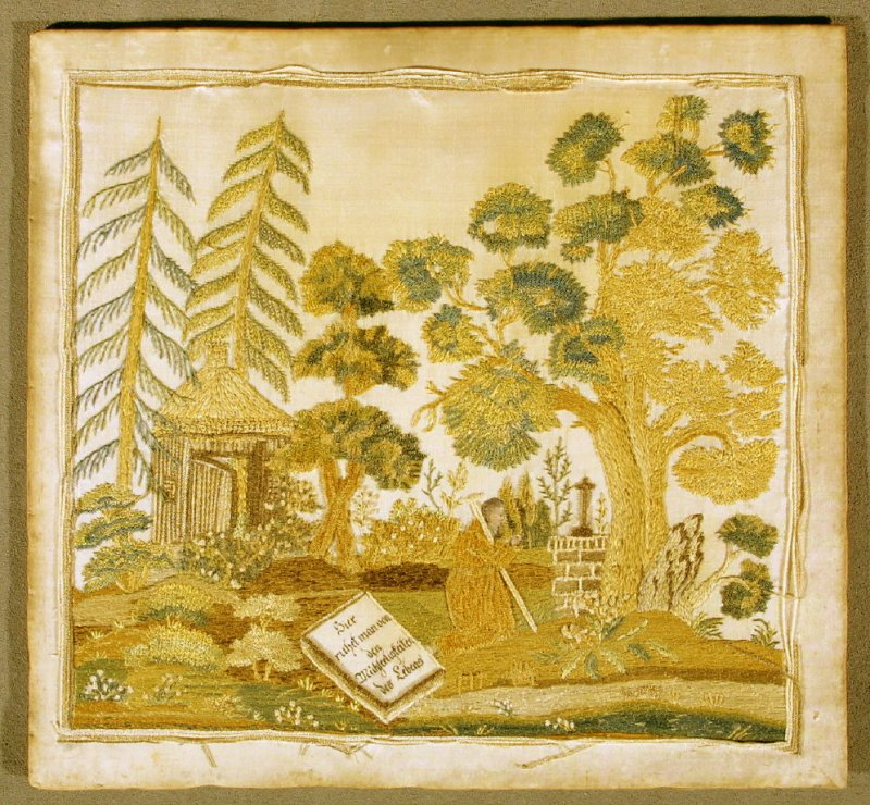 Panel: embroidery