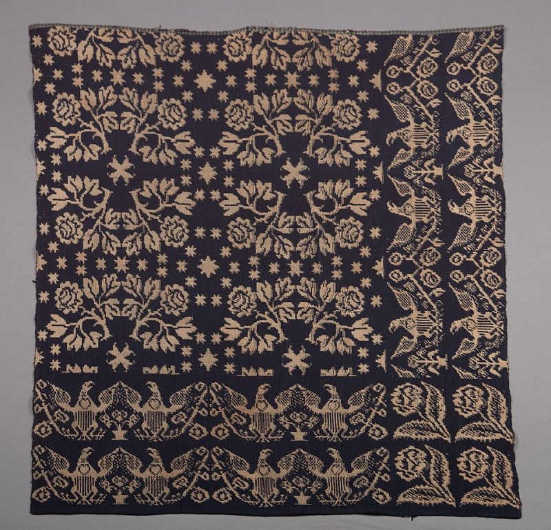 Coverlet fragment