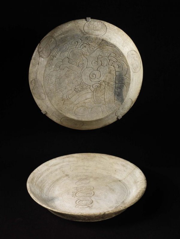 Two-part cache vessel with God A'