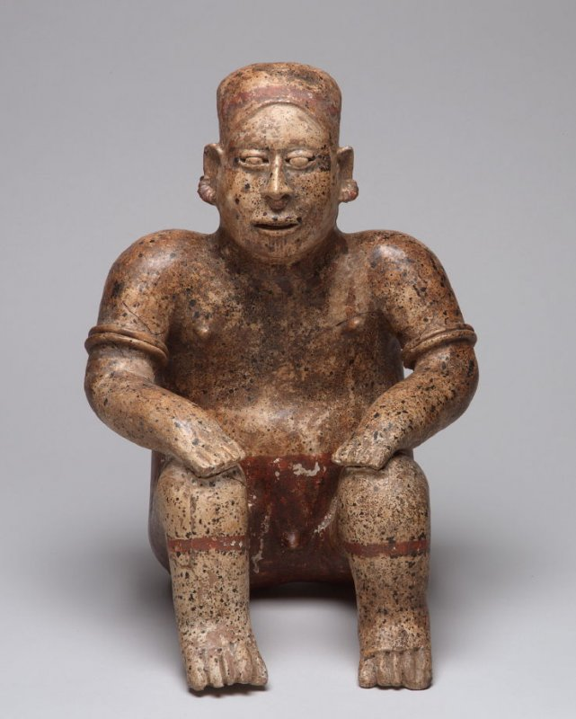 Seated male