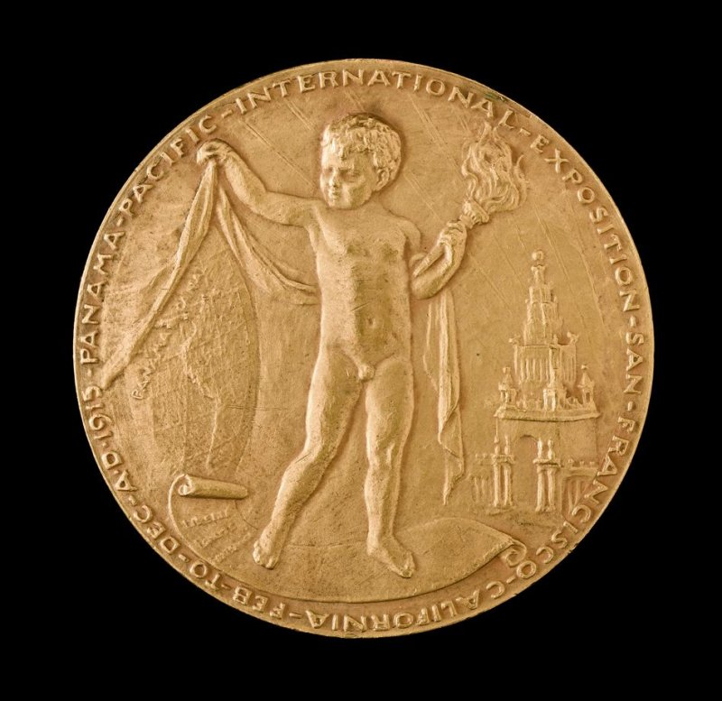 French Republic Gold Medal from Panama Pacific International Exposition, French Pavilion