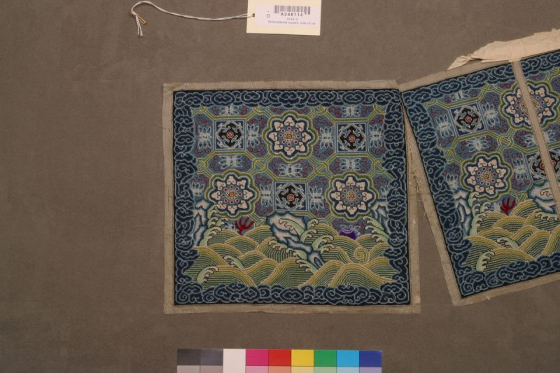 Embroidered rank badge (one of pair - 1944.6)