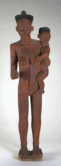 Roof figure for a chief's house
