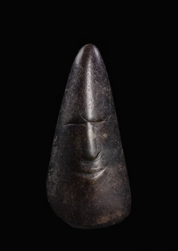 Blade with human face