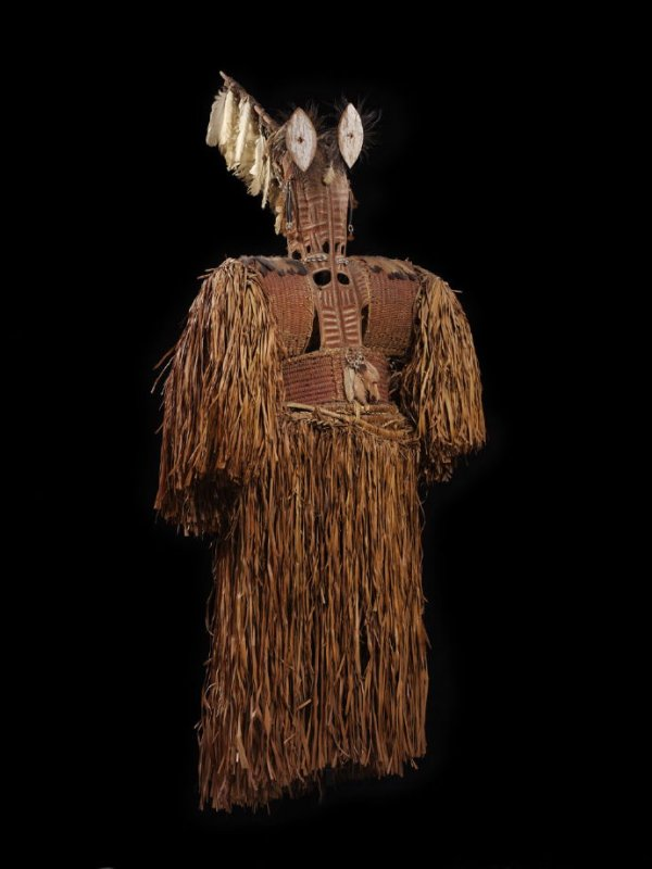 Spirit mask costume, doroe or dekewar