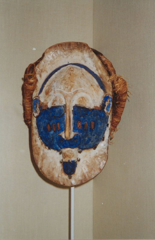 Face mask with basketry cap
