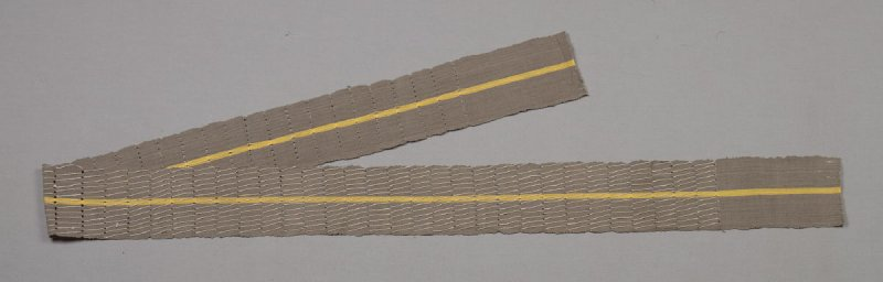 Country cloth strip