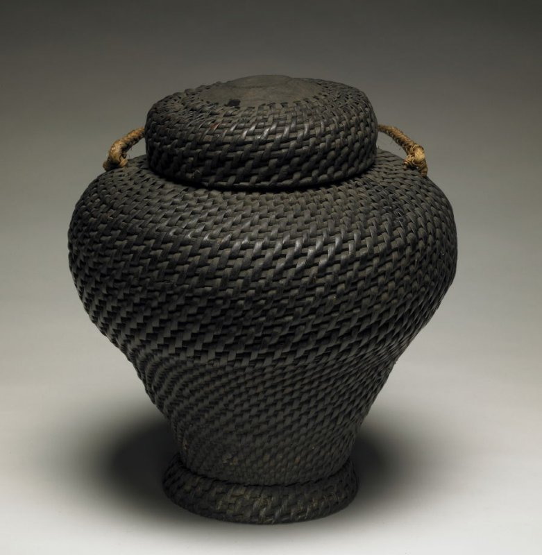 Rice Storage Basket ( cul-bong) with Lid
