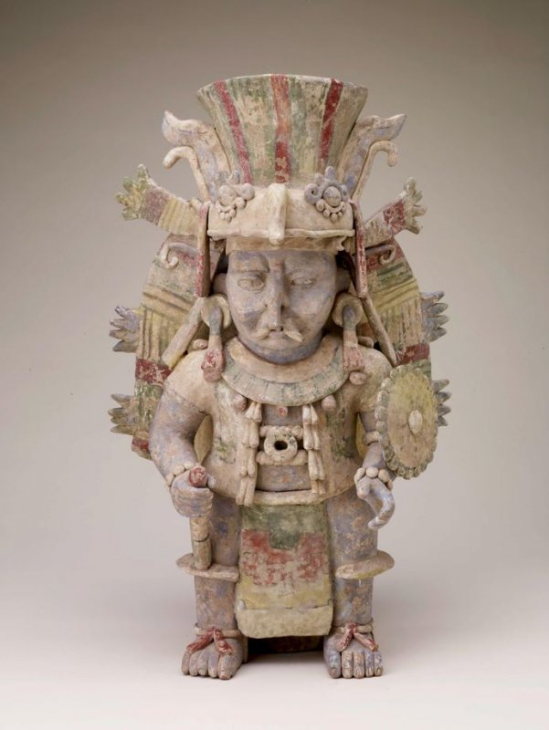 Effigy urn in the form of Chahk (the Rain God)