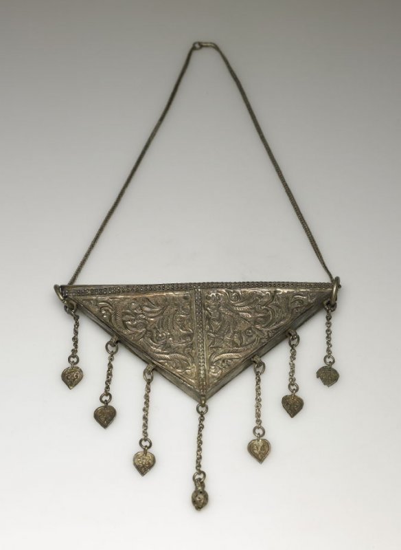 Charm worn by ladies to drive off evil spirits