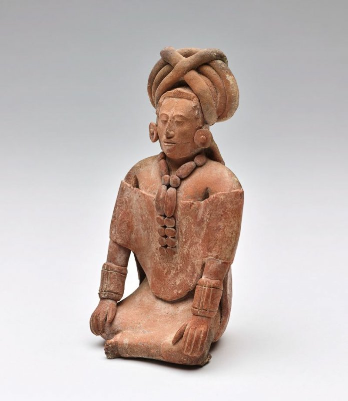 Seated figure or whistle
