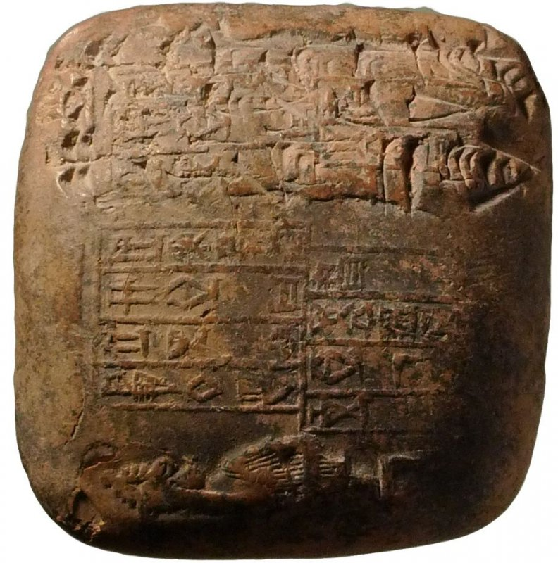 Cuneiform tablet from Ur-Ishtaran by the official Dadaga