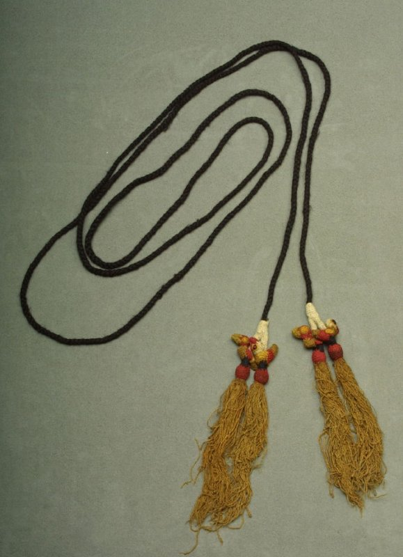 Cord with two tassels