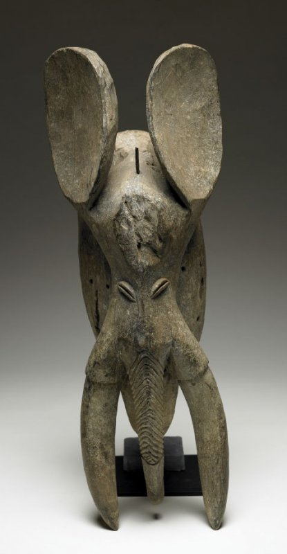 Helmet Mask in the form of an Elephant