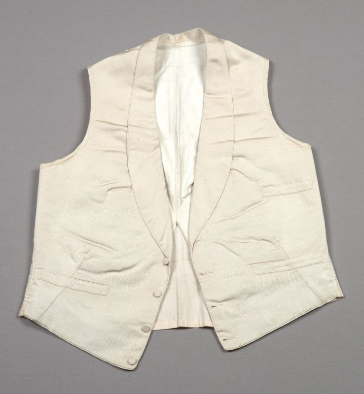 Man's wedding vest