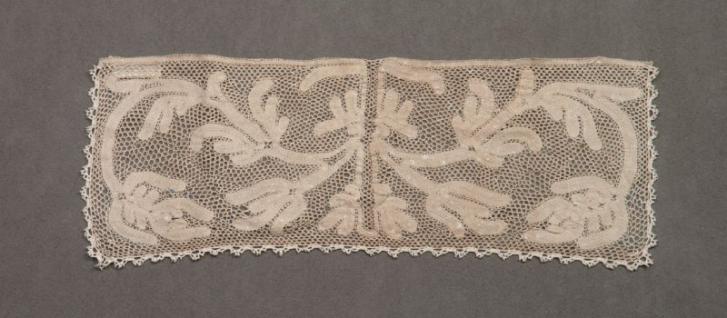 Lace panel or collar