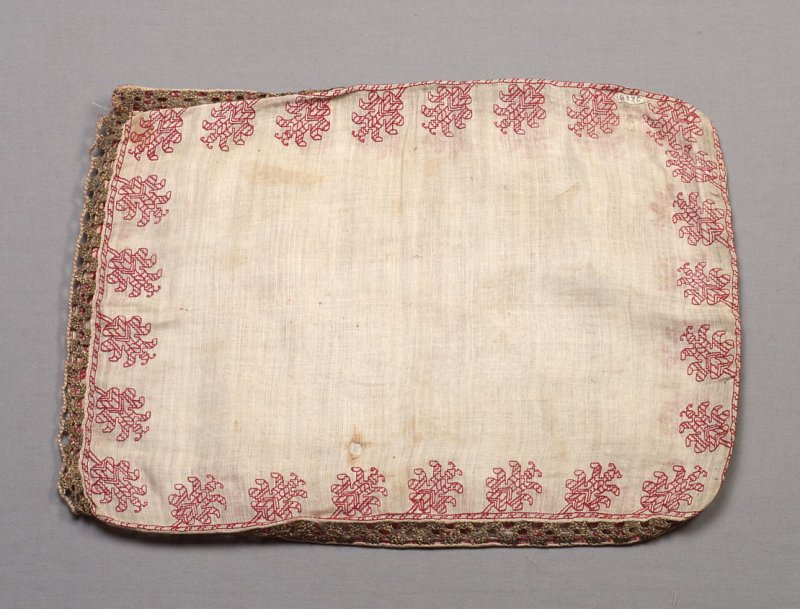 Panel: red embroidery