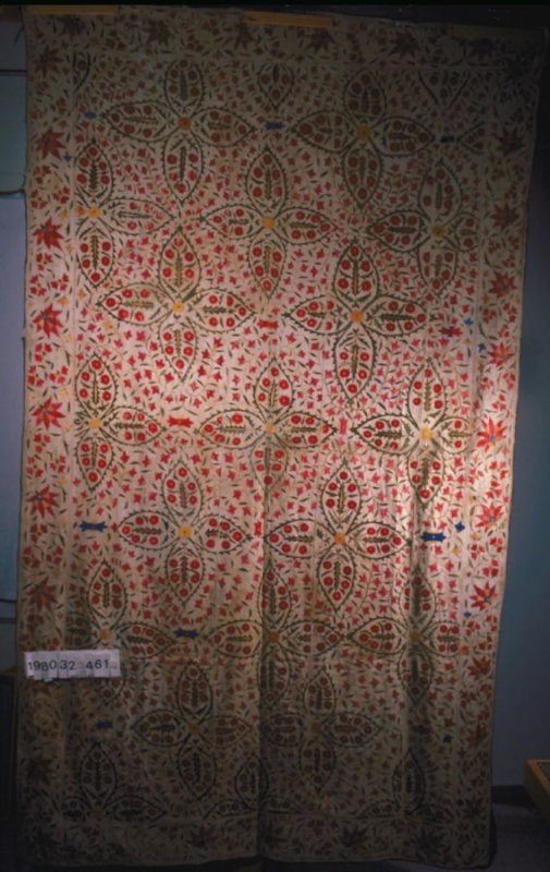 Embroidered hanging or cover (suzani)