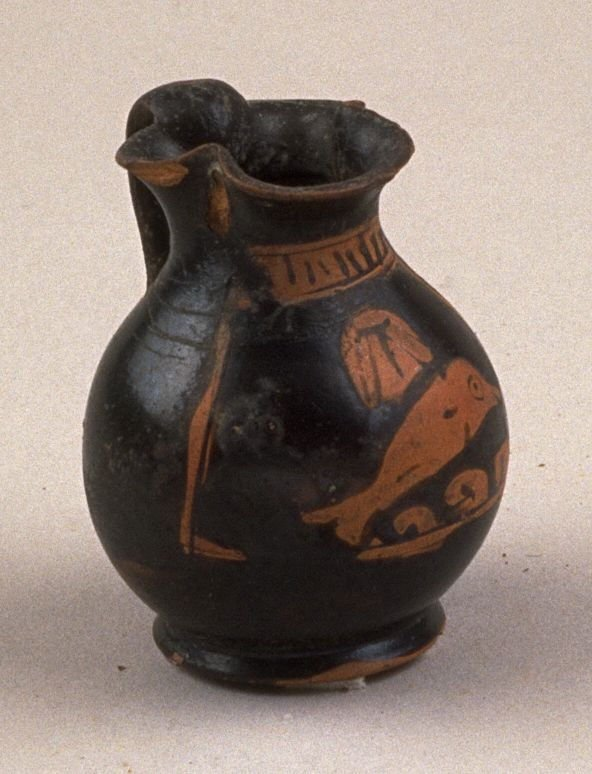 Red-figure miniature chous