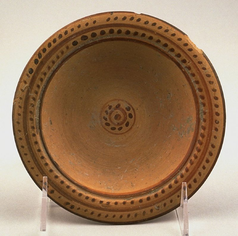 Stemmed Plate or Compote