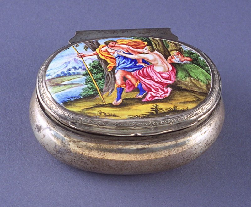 Oval Snuff Box