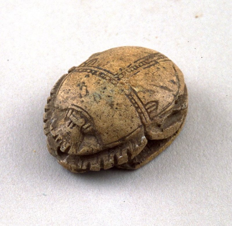 Scarab (with wax impression)