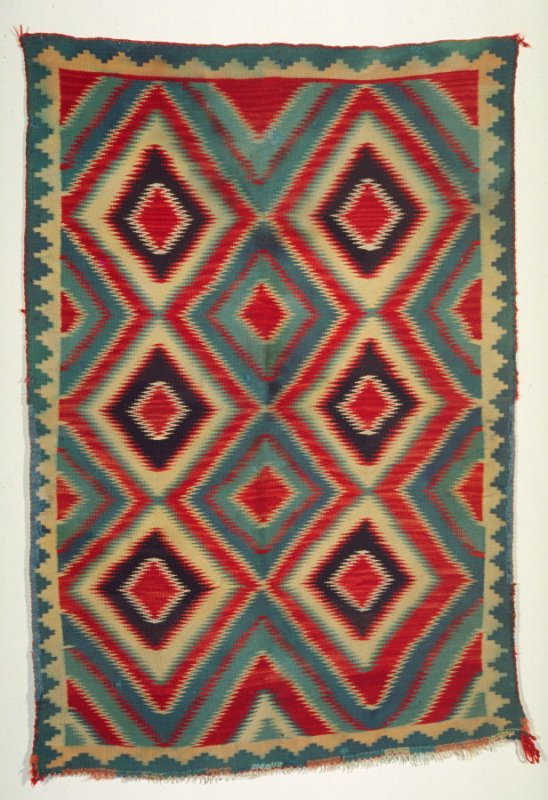 Germantown eye dazzler rug