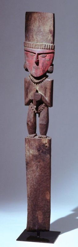 Male shrine figure