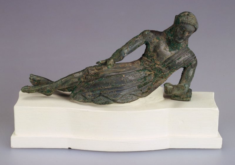 Statuette of a Reclining Banqueter