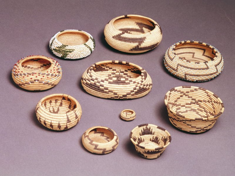 Three Miniature Baskets
