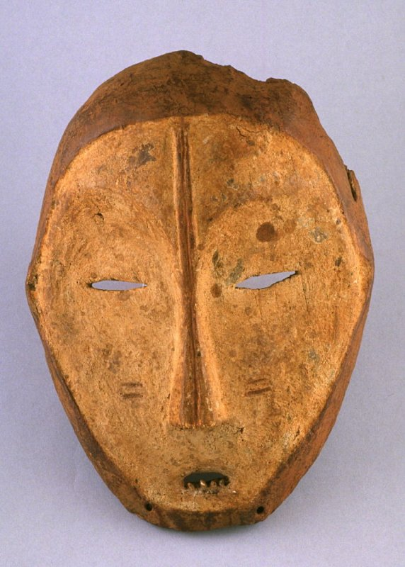 Ceremonial dance mask