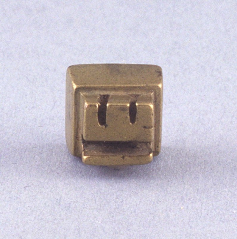 """Goldweight with """"E"""" shape and bara315"""
