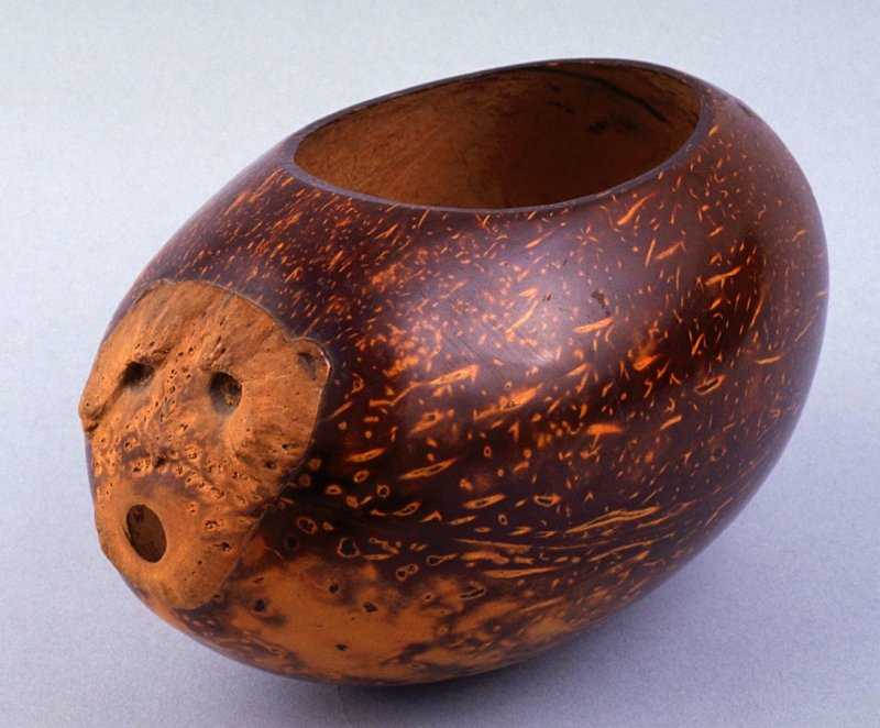 Gourd calabash with cover