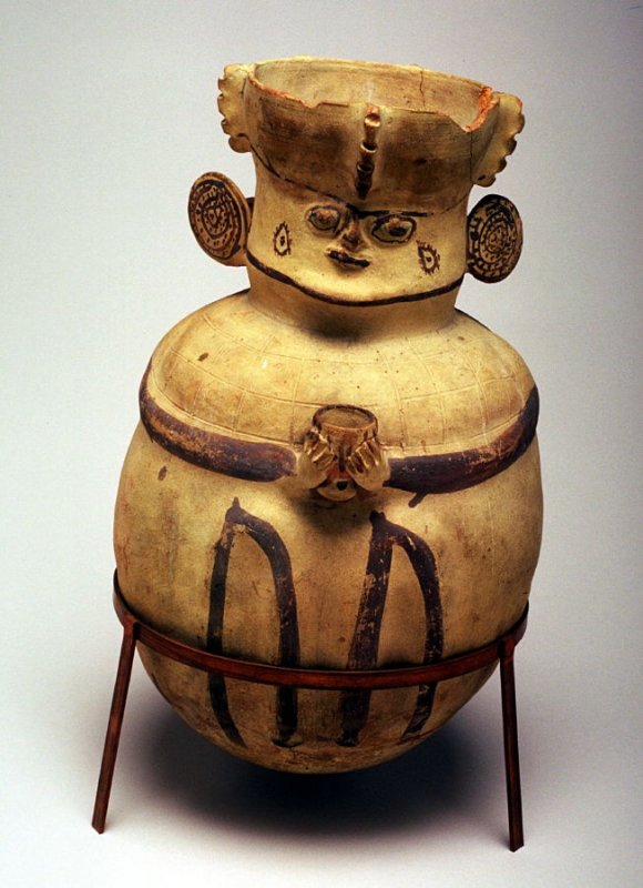Jar with human features