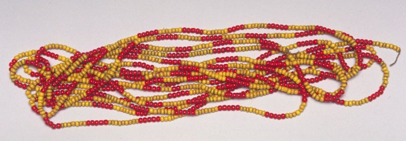 String of trade beads