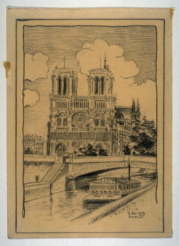 View of Notre Dame, Paris