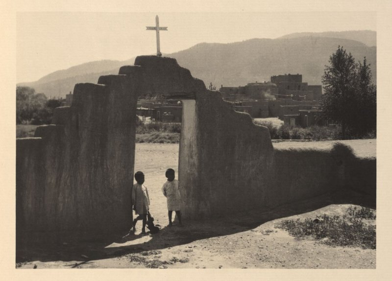 South House (Hlaukwima), plate II from Taos Pueblo (San Francisco: Grabhorn Press, 1930)