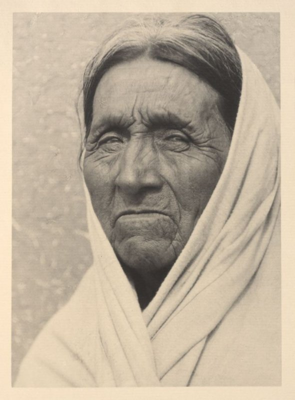 Old Man of Taos, plate IX from Taos Pueblo (San Francisco: Grabhorn Press, 1930)