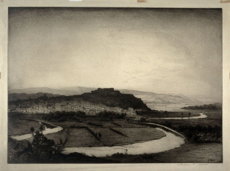 View of Stirling and the Castle