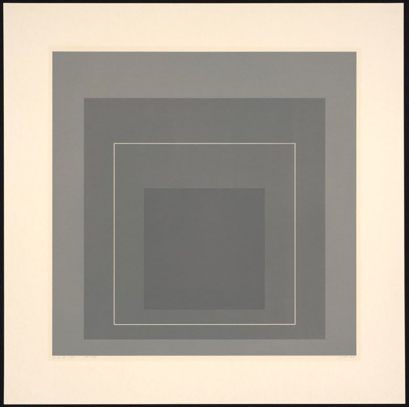 White Line Square II, from White Line Squares (Series I)