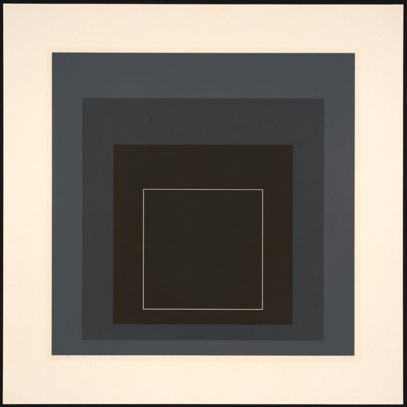 White Line Square VIII, from White Line Squares (Series I)