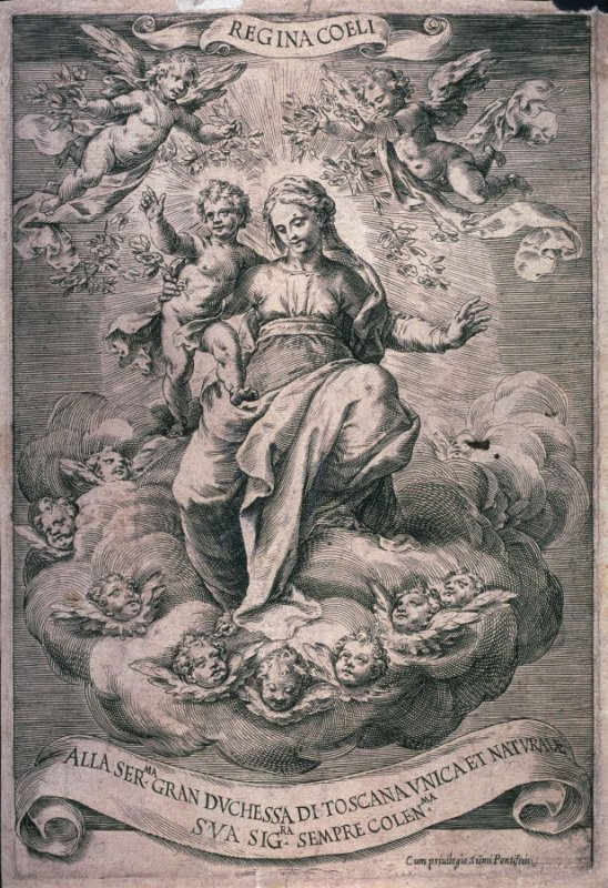 The Madonna and Child in Glory with Angels